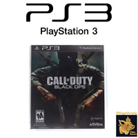 Call of Duty Black Ops (2010) Playstation 3 Game with Case & Manual Tested Works