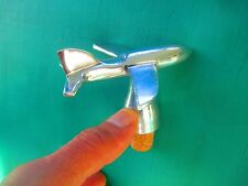 Wine BOTTLE STOPPER figural AIRPLANE - Bar Tools & Accessories