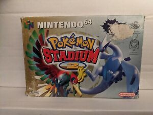 Pokemon Stadium 2 Nintendo 64 Boxed Including Instructions