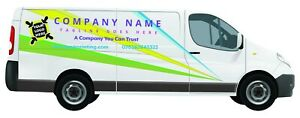 Company Van Sign Writing Kit   Vinyl Decals for Medium Van (Transit, Vivaro etc)