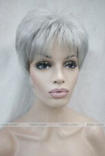 (11 colors) Short Straight Women Female Lady Hair Full Wig / Perruque #RG-RONIC