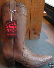 8931 Sendra boots python marron ***promo à saisir ***
