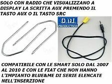 CAVO CAVETTO SOLO AUDIO AUX IN MP3 IPHONE GALAXY S2 S3 FIAT GRANDE PUNTO 500 159