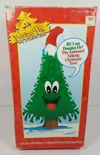 1996 Gemmy Douglas Fir The Talking Christmas Tree 16� Edition As Is for parts