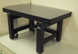 Tested TMC 3' x 5' OPTICAL TABLE, ROLL AROUND PNEUMATIC ISOLATION BENCH
