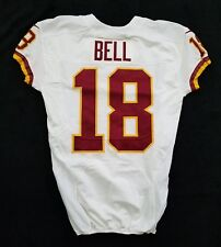 #18 Reggie Bell of Washington Redskins Nike Game Issued Jersey