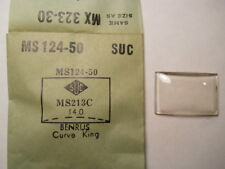 BENRUS CURVE KING SUC MS124-50 GS MX323-30 Factory Watch Crystal 2.13 x 1.40 mm