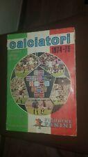ALBUM FIGURINE PANINI CALCIO 1974 1975 MILAN INTER ROMA LAZIO CALCIO 16 MANCANTI