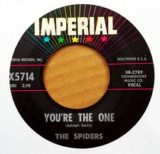 THE SPIDERS - YOU'RE THE ONE b/w TENNESSEE SLIM - IMPERIAL 45 - 1960