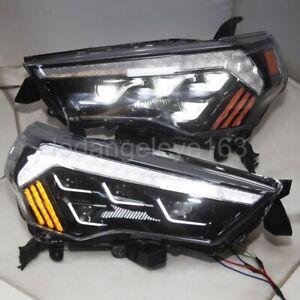 Full LED headlights for TOYOTA 4 runner LED headlights 2014-2020 year black
