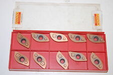 (10) NIB Sandvik Coromant RA216-25 04 E-M 1030 Carbide Inserts