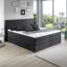 boxspringbett hollywood 180x200 cm bettkasten und topper mit bonell federkern