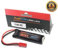 Powerhobby 1S 3.7V 500Mah 25C Lipo Battery w JST Connector