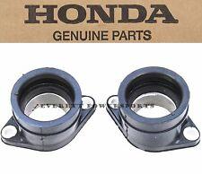 New Honda Intake Manifold Carburetor Boots 78-79 CB400 I II Hawk Boot Set #P132