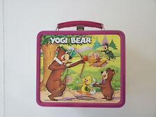Aladdin 1974 Yogi Bear Lunch Box No Thermos Metal Handle Vintage