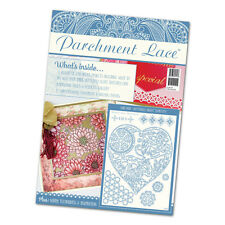 Tattered lace Parchment Magazine issue 4 + butterfly heart tapestry metal  grid