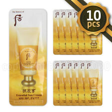 [The history of whoo] Essential Sun Cream Sunscreen 1ml x 10pcs SPF50+ PA+++