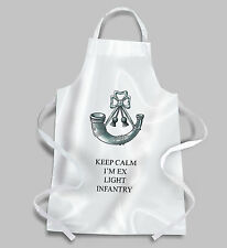 Light Infantry BBQ Apron KEEP CALM
