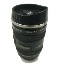 Canon Camera Lens Thermos Mug Canium Coffee Mug Cup Stainless Steel Interior