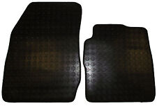 FORD FIESTA VAN 2008 onward 2 PIECE RUBBER FLOOR MAT MATS FRONT TAILORED FIT NEW