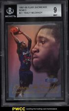 1997 Flair Showcase Row 3 Tracy McGrady ROOKIE RC #21 BGS 9 MINT