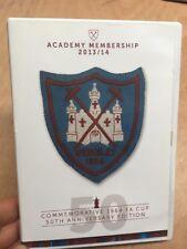 West Ham United:Academy Membership 2013/14(UK DVD)50th Anniversary 1964 FA Cup