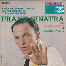 Frank Sinatra w/Harry James & Pearl Bailey Columbia EP B-2542 Record & Pic Cover