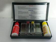 Test Kit per analisi controllo acqua piscina piscine valori pH e cloro reagenti