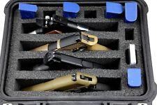 "New Custom 4 pistol handgun gun foam insert kit fits your Pelican â""¢ 1400 case"