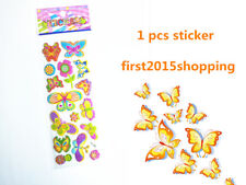 butterfly pattern cartoon Scrapbooking sticker lot 1pcs handmade kids gifts us