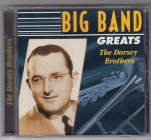 BIG BAND GREATS CD - THE DORSEY BROTHERS