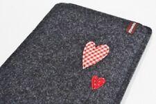 Funda tablet Kindle Paperwhite fieltro corazoncito eBook Reader case bolso cover corazón