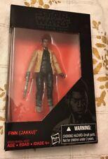 """Star Wars Finn Jakku The Black Series New in Box NIB 3.75"""" Action Figure Hasbro"""