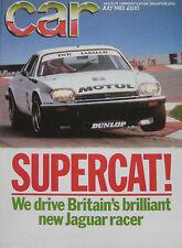 CAR 07/1983 featuring TWR Jaguar XJS, Ferrari 400i, Alfa Romeo GTV,Ford  XR4i