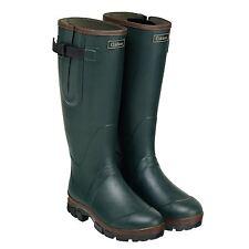 Caldene Equestrian Unisex Neoprene Lined Green Westfield Wellington BOOTS Size 8