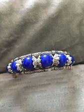 Women's Tibetan Silver Bracelet with Beads