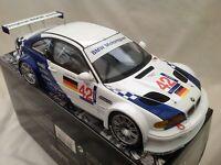 Minichamps 1:18 BMW M3 GTR Racing ELMS 2001 No 42. Pauls Model Art