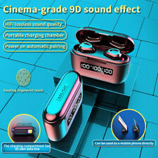 New listing Bluetooth Earbuds Wireless Earphone 12H Music Time Battery Display Charging Case