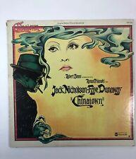 Chinatown 1974 Original Soundtrack LP US 1st Press VG+ Jerry Goldsmith Vinyl