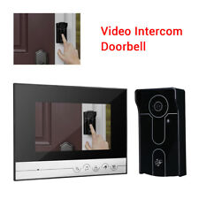 7 Inch 700TVL Video Doorbell Camera Door Intercom Monitor System Security Record