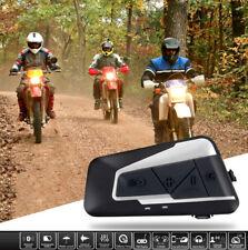 Bluetooth Intercom Helmet Motorcycle Communication Motorbike Interphone Headsets