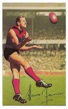 1966 Mobil VFL Footy Photos (26) Hassa MANN Melbourne Near Mint /:
