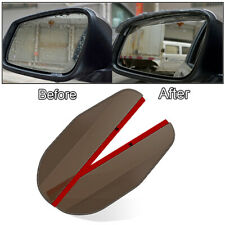 XUKEY Side Rear Mirror Visor Car Accessories Rain Snow Guard Black Eyebrow 2 Pcs