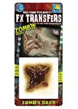 Zombie Gash Fake Scar FX Transfer