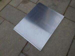 Stainless steel splashback 600 x 750