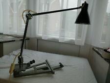Ancienne lampe de bureau d'architecte design années 50-60 complète et fonctionne