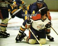 WHA 1972 New York Raiders vs Minnesota Fighting Saints Game Action 8 X 10 Photo