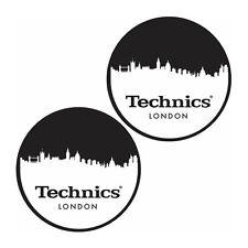 Slipmats Technics DMC - Ligne d'horizon Londres (1 paire / 1 pair) mlond NEUF +
