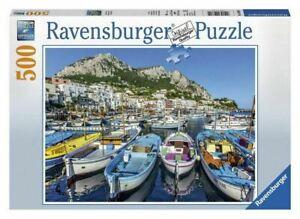 Ravensburger - Colourful Marina 500 Pieces Jigsaw Puzzle Calendar