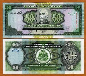 Haiti, 50 Gourdes, 2003, P-267b UNC